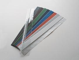 Kalenderlaschen weiss,   595mm