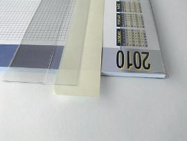 Kalenderlaschen transpar.595mm